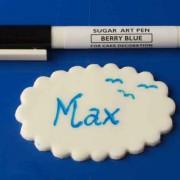 Sugar art Pen - Berry blue