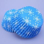Muffinsform - Snowflakes