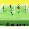 Tårta till fotbollsfantasten