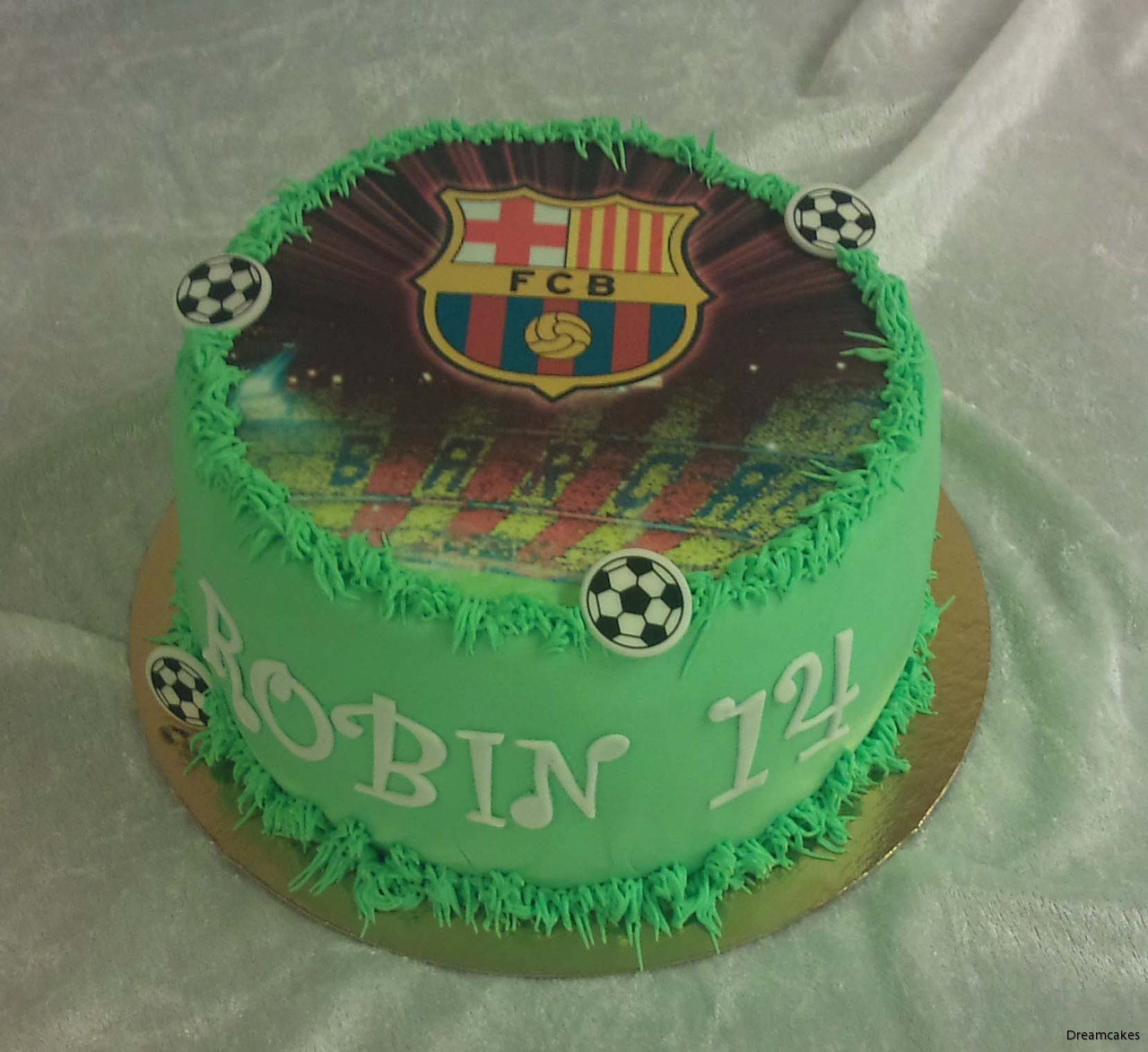 ätbar bild med eget motiv, sockerbild, foto på tårta, tårtbild, fotbollstårta,