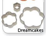 pepparkaksform, blomsterform för cupcakes, tårtdekorationer, tårtverktyg