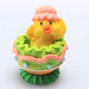Kyckling i ägg - Rosa mössa