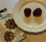 Cakepops innan de är doppade i choklad