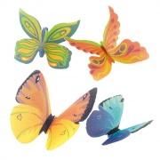 Fjärilar  till tårtan