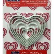 Hjärtutstickare i 6-pack