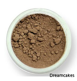 Brun pulverfärg, Pulverfärg för sugarflowers, skriva på tårta, karamellfärg, pulverfärg