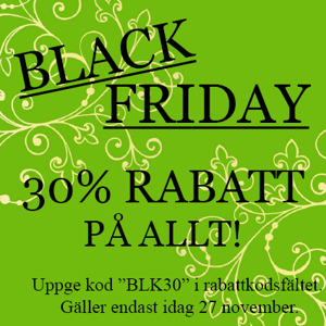 Black friday på Dreamcakes
