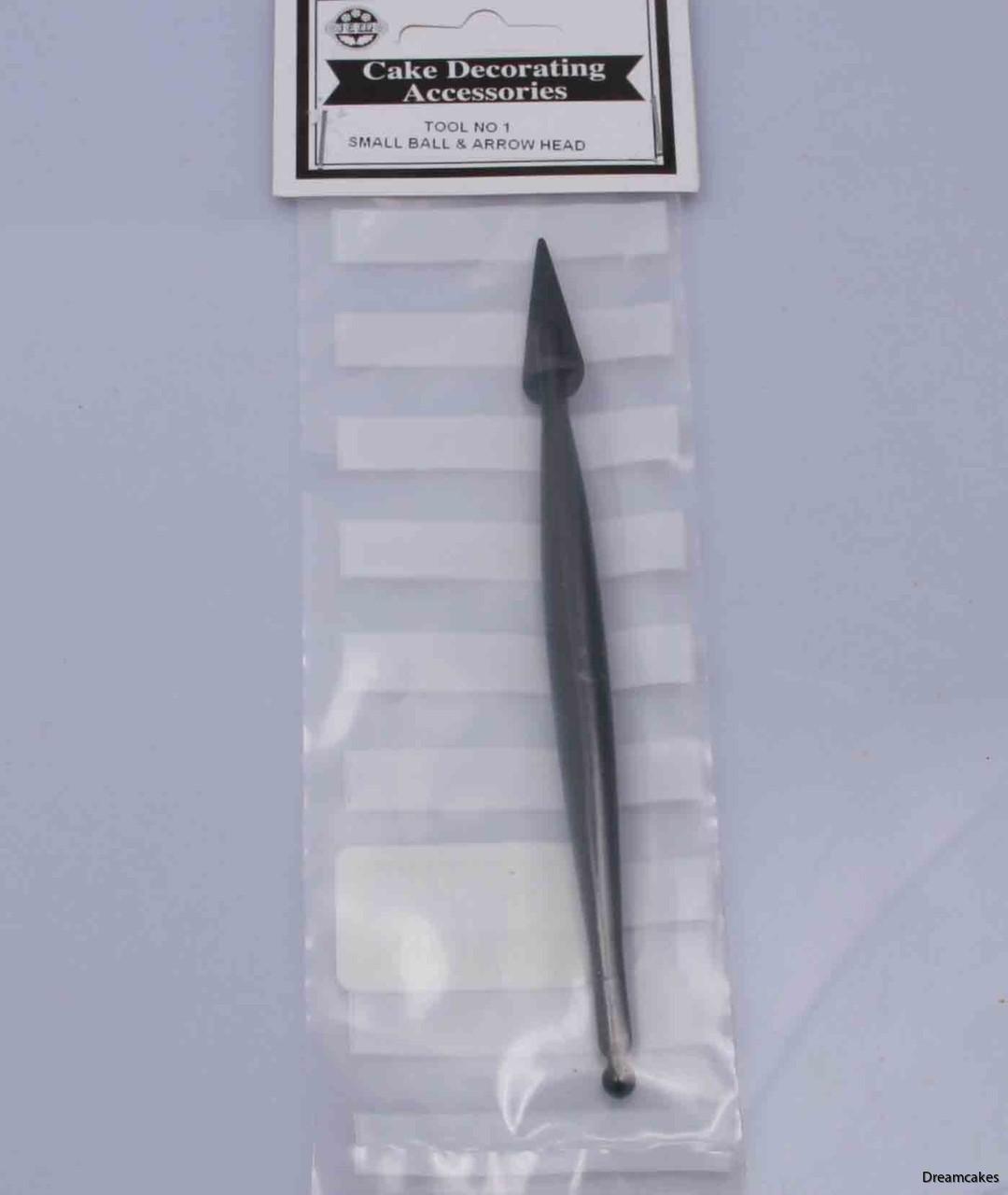 smidigt verktyg för sockerarbeten och modellering i marsipan och sockerpasta