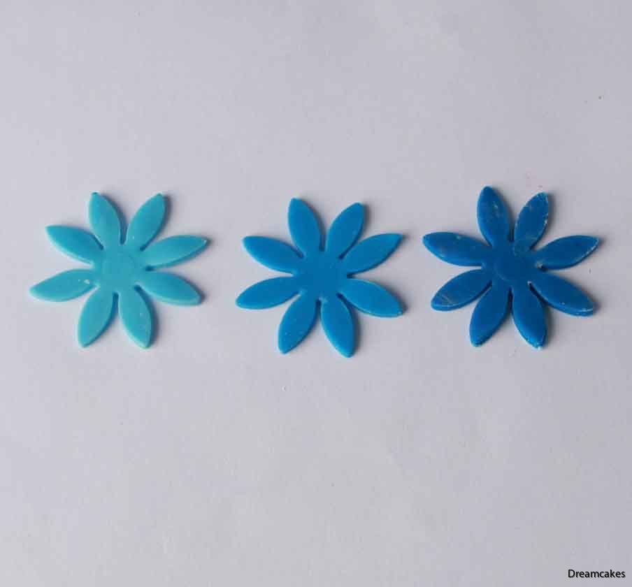 karamellfärg blå