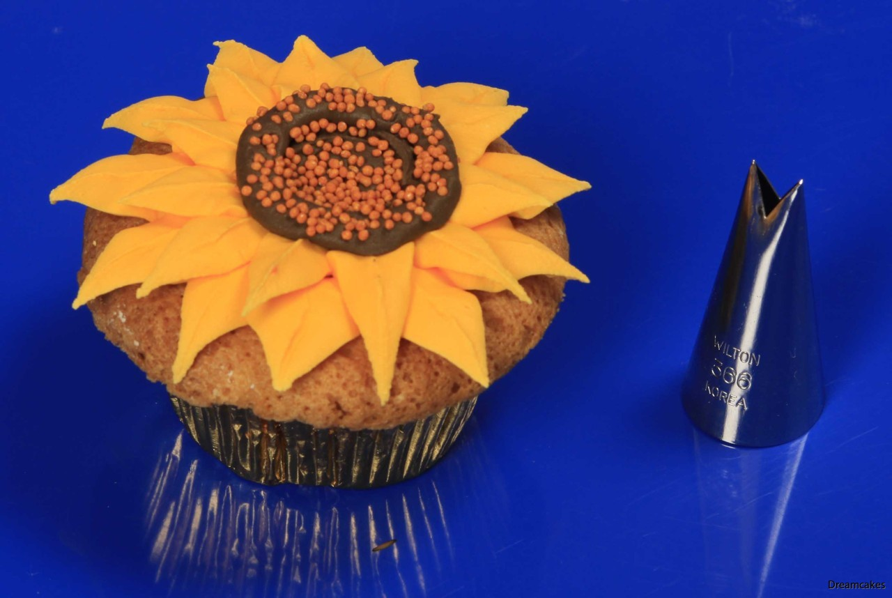 Tyll för stora löv och blad på tårta och cupcakes