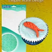 Mönstermatta Elegant Wave