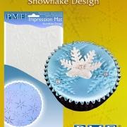 Impression mat - Snowflake