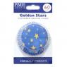Golden star muffinsform