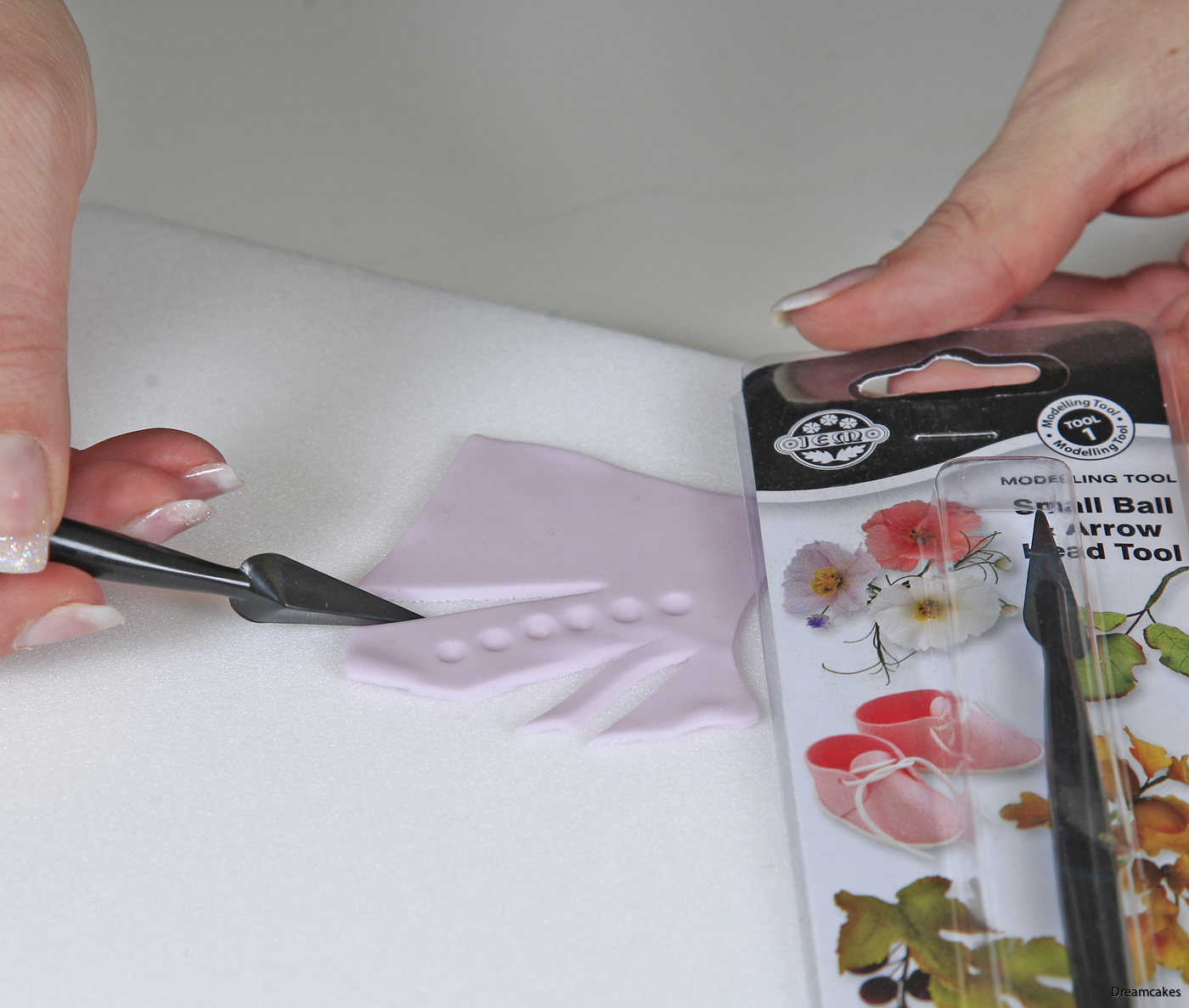 Modelleringskniv för marsipan och sockerpasta