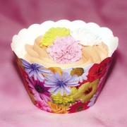 Cupcake Wraps - Sommarblommor