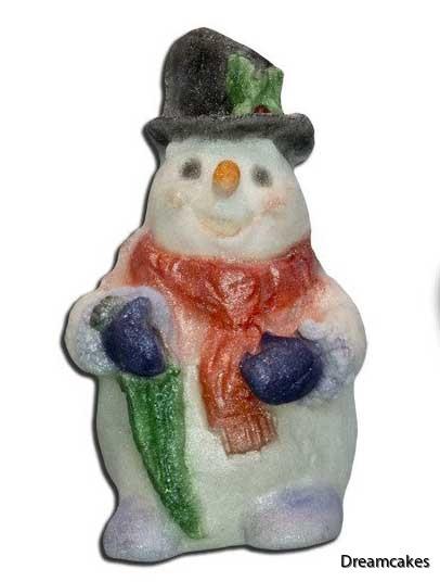 snöman i socker