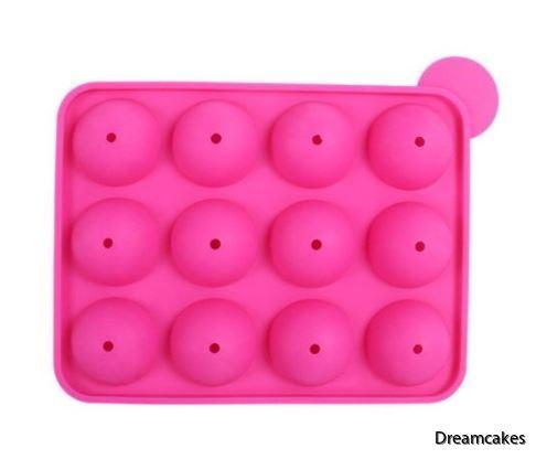 cakepops, baka cakepops, cakepopsform, silikonform cakepop