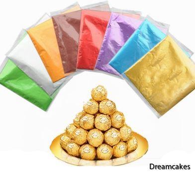 För julgodis, foliepapper, godispapper, kolapapper, chokladpraliner, omslag för choklad och kola, karamellpapper, karamellfolie