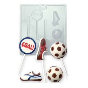 Candy Mould - Fotbollstema