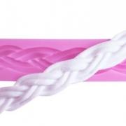 Silikonform - Flätat rep
