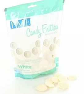 Candy buttons - White mint