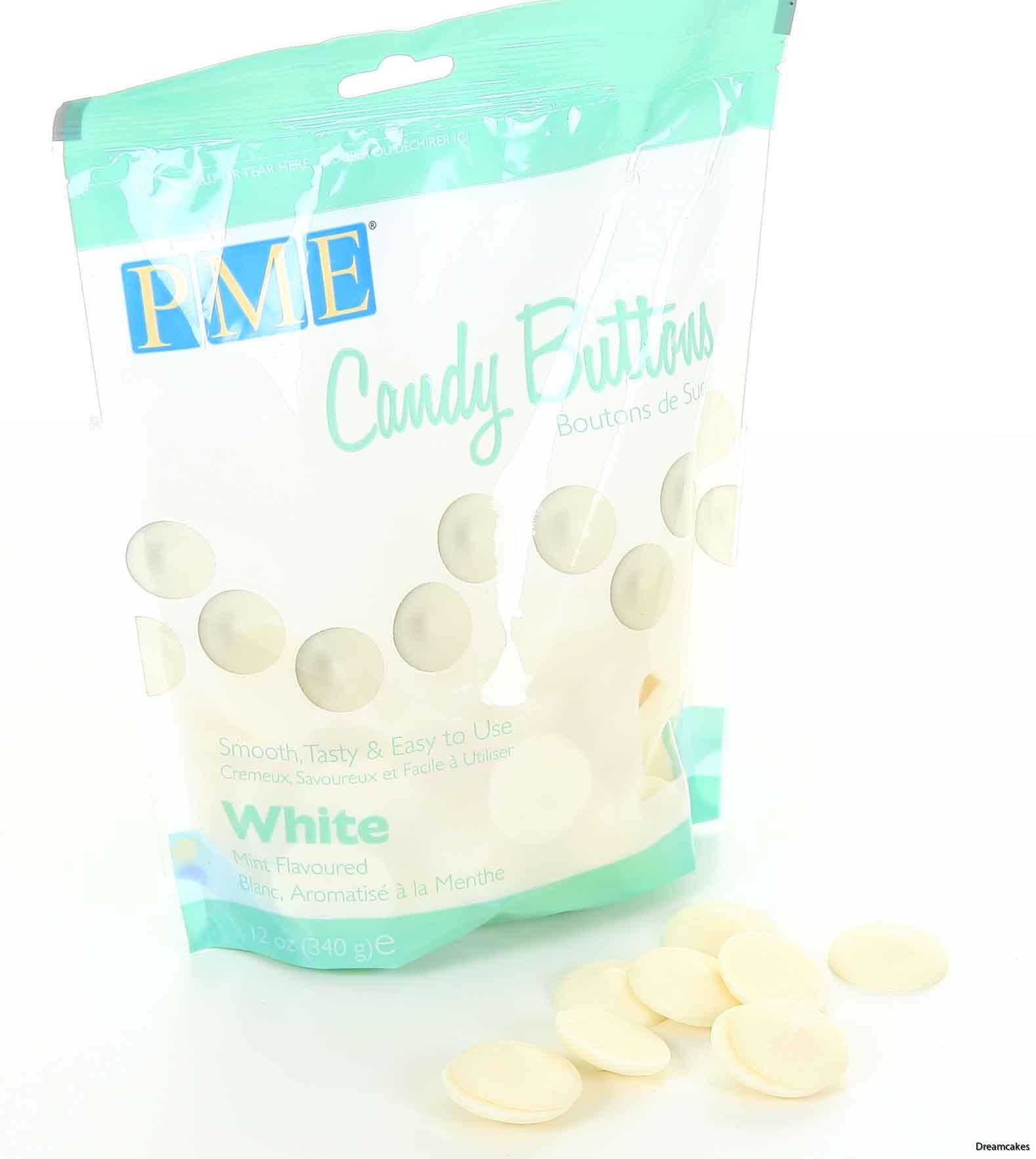 vit choklad för cakepops, candy buttons, vit choklad för bakning, mintchoklad, vit choklad med mintsmak