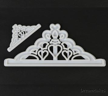 krona, prinsesskrona för tårta, prinsesstårta, frost, elsa, frozen