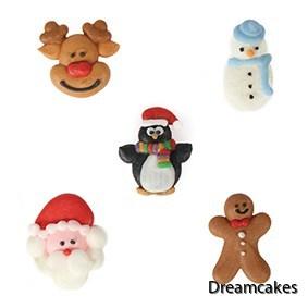 julfigurer, kristyrfigurer för jul , ätbara kristyrfigurer,
