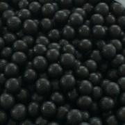 Mjuka pärlemopärlor - Svarta