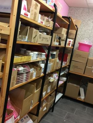 tårtbutik, lagershop, handla tårtdekorationer