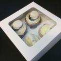 Cupcakeskartong med fönster