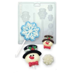 Chokladform - Winter Snow