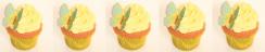 Cupcakes, muffins, fjärilar, oblatfjäril, tårtdekorationer