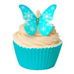 Fjärilar i Blå toner