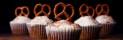 kringlor på muffins, söta minimuffins