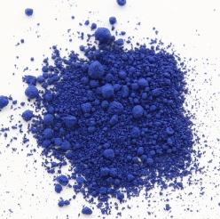 Pulverfärg Sapphire Blue