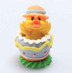 Kyckling i ägg - Orange hatt