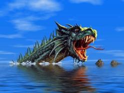 Fantasy Dragon - Sockerbild