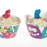 Monstercupcake wraps