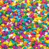 Hjärtströssel - Regnbågsfärger