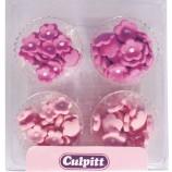 Småblommor i rosa nyanser