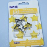 Star Cutter metall - 3pack
