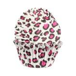 Muffinsform - Rosa Leopard
