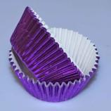 Muffinsform - Lilammetallic