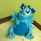 Tårtkurs - Modellerad Babydrake
