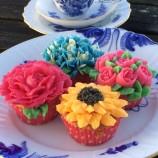 Tårtkurs - Våriga blomstermuffins