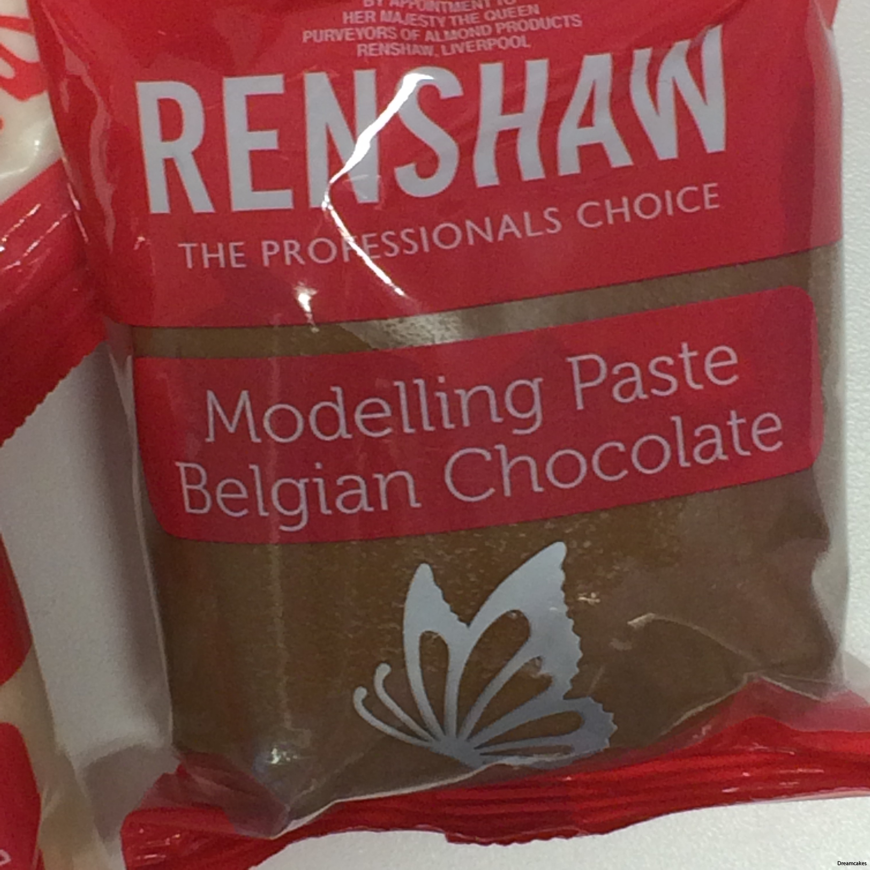 modelleringschoklad för tårtdekorationer med äkta belgisk choklad