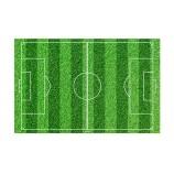 Tårtbild - Fotbollsplan