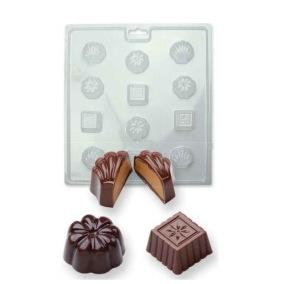 Chokladform - Klassisk pralinform