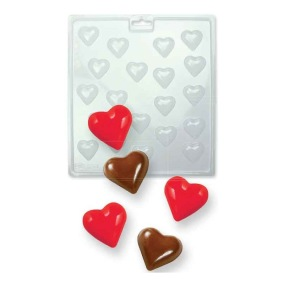 Chokladform - Släta hjärtan